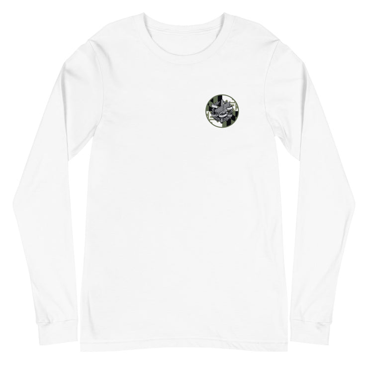 ANNE ARUNDEL LEFT CHEST AND BACK LOGO LONG SLEEVE