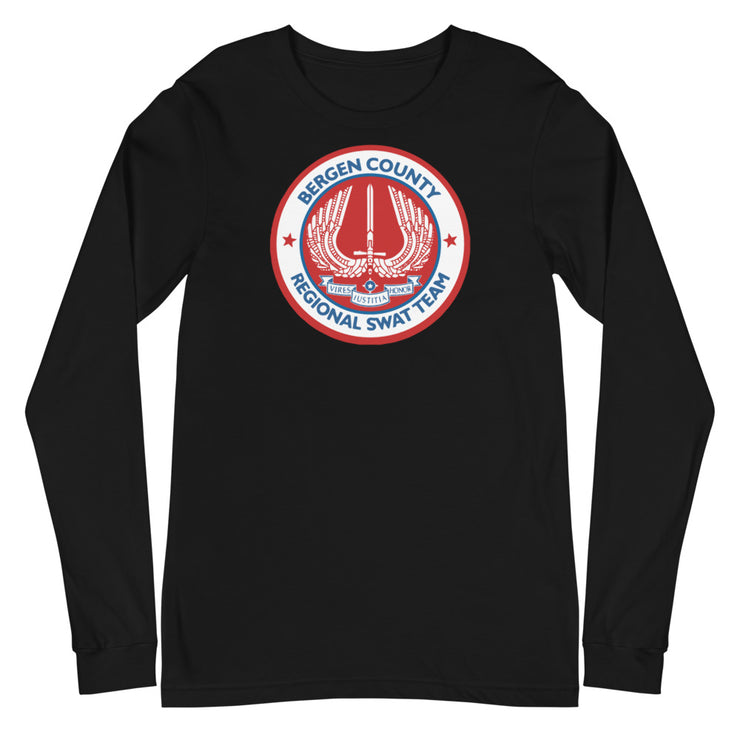 BERGEN COUNTY AMERICAN RED LONG SLEEVE
