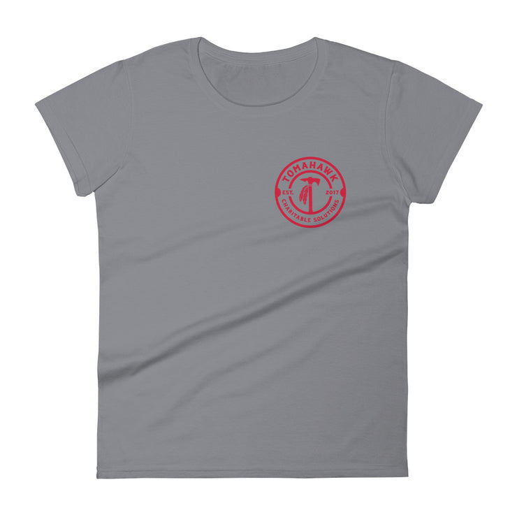 TCS Left Chest Logo Womens Tee