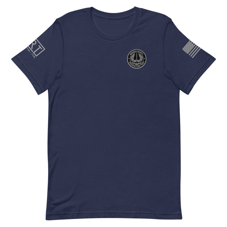BERGEN COUNTY SWAT GREY USA JRT TEE