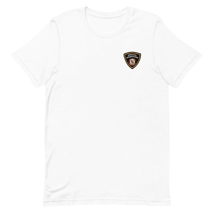ANNE ARUNDEL MARYLAND SHIELD FRONT BACK LOGO TEE