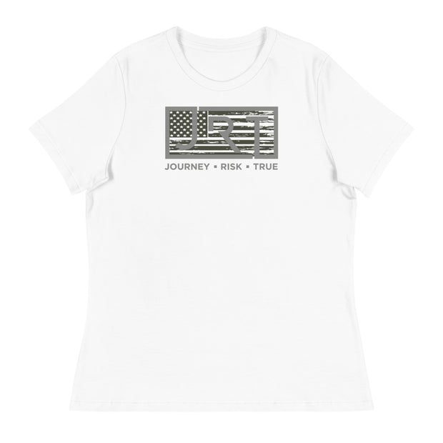 JRT AMERICAN ARMY WOMEN'S RELAXED TEE