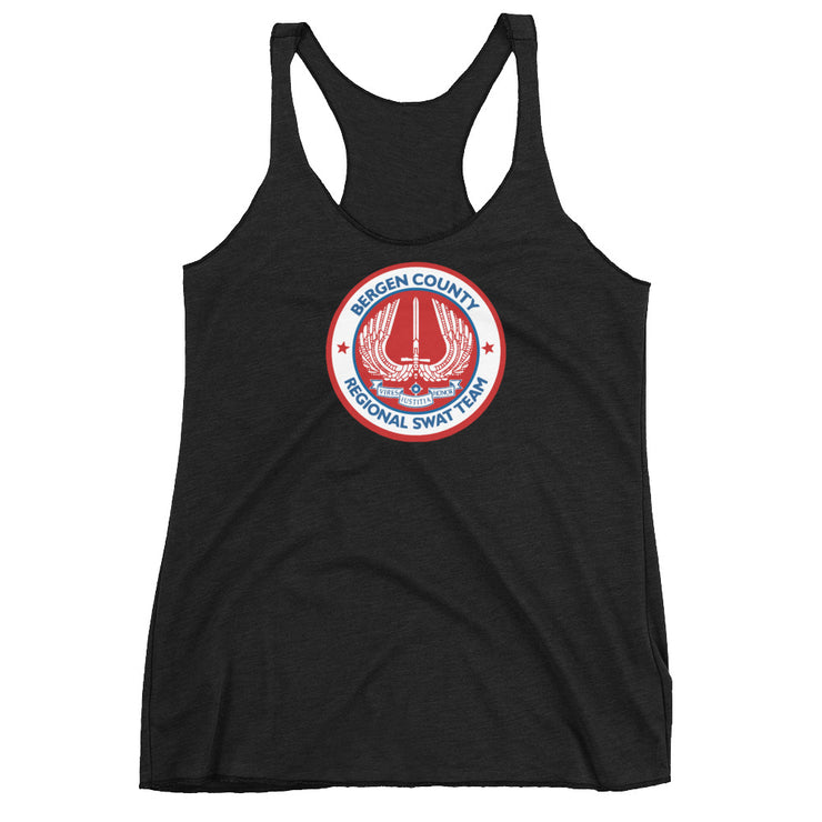 BERGEN COUNTY AMERICAN RED WOMEN'S RACERBACK TANK TOP