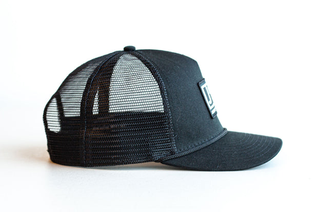 JRT Black Trucker Snapback Hat
