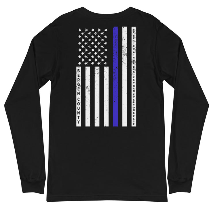 Bergen County Back The Blue Long Sleeve