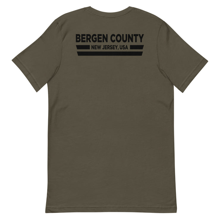 Bergen County NJ USA Back Tee