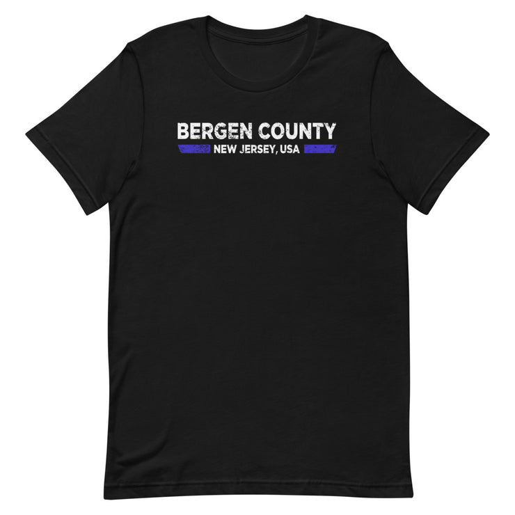 Bergen County Back The Blue Tee
