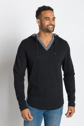 Rain-ier | Men's Plated Knit Hooded Top