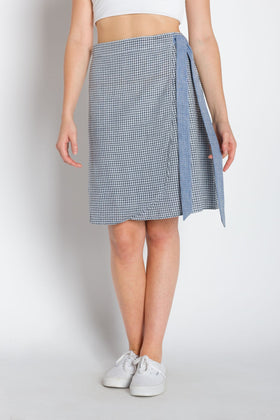 Patricia | Women's Knee Length Wrap Skirt