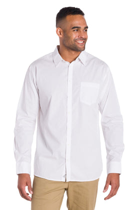 Journey | Men's Button Up Poplin Shirt