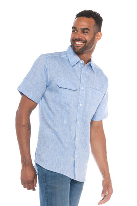 Lanai | Men's Short Sleeve Linen Shirt