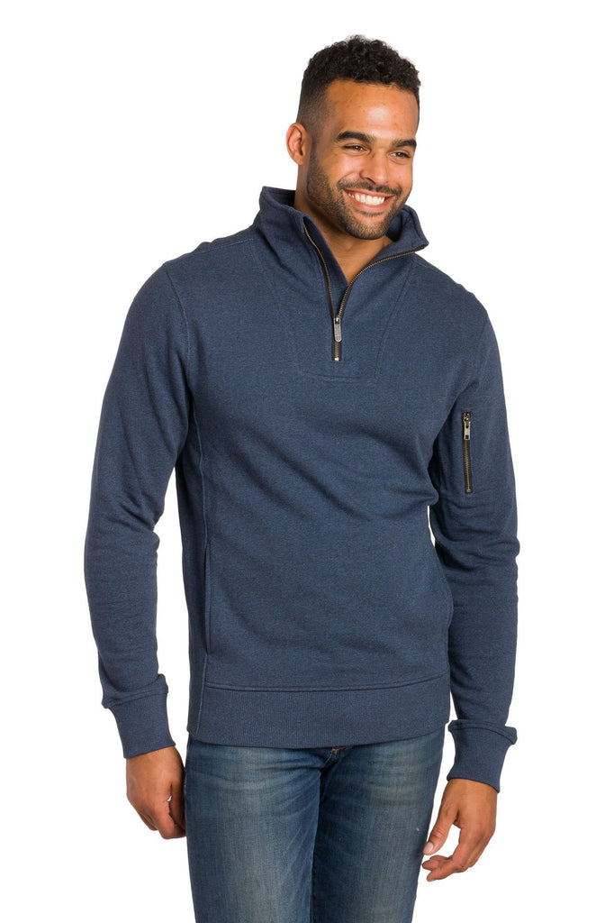 Oskar | Men's 1/4 Zip Long Sleeve Pullover