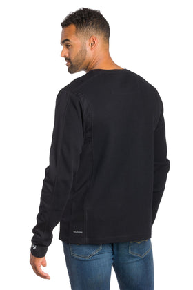 Luxor | Men's Thermal Pullover Crew Neck Shirt