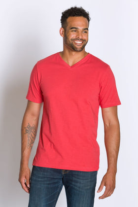 Jamie | Men's Cotton Slub Short Sleeve Top