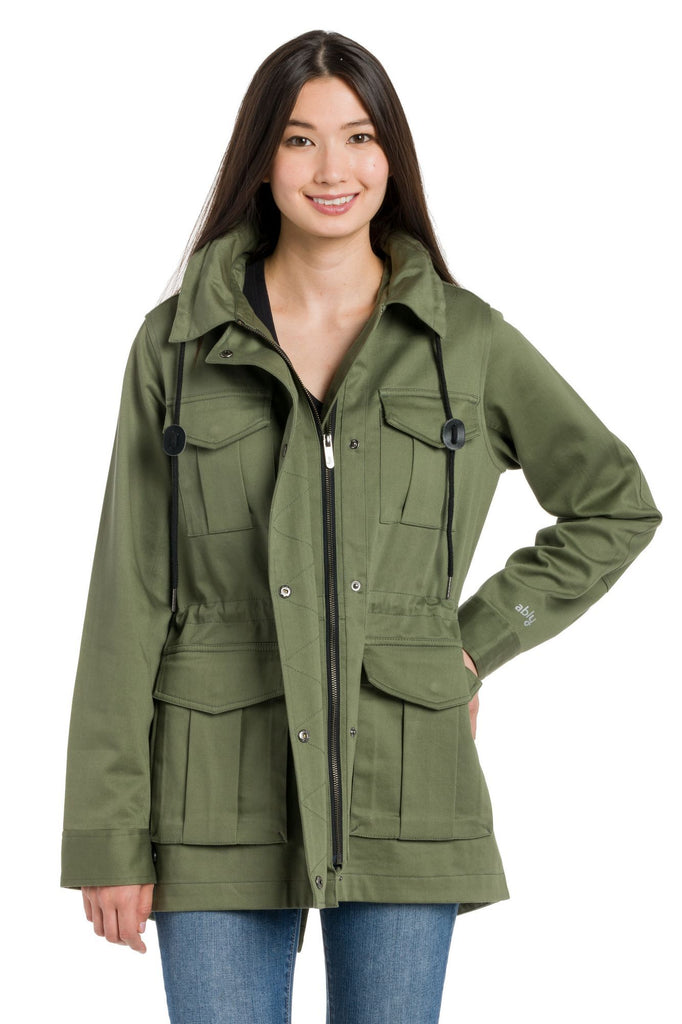 Citrine | Women's Hooded Field Jacket