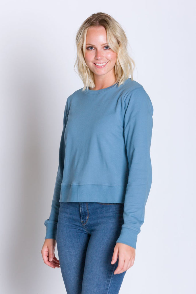 Daphne | Women's Long Sleeve Lightweight French Terry Sweatshirt