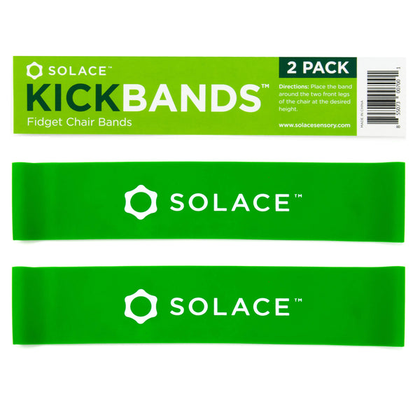 by Solace Autism Quiet Tactile Stimulation for ADHD Red /& Blue Helps Girls /& Boys with Stimming Fidgeting and Focus 2-Pack Sensory Slap Fidget Bracelet Bands Special Needs Kids