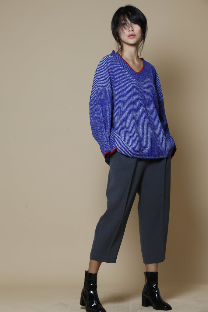 sleeve loose knit