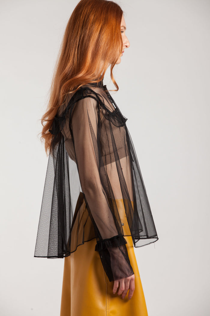 Victorian See-through Shirt - Via Ennji Online Store