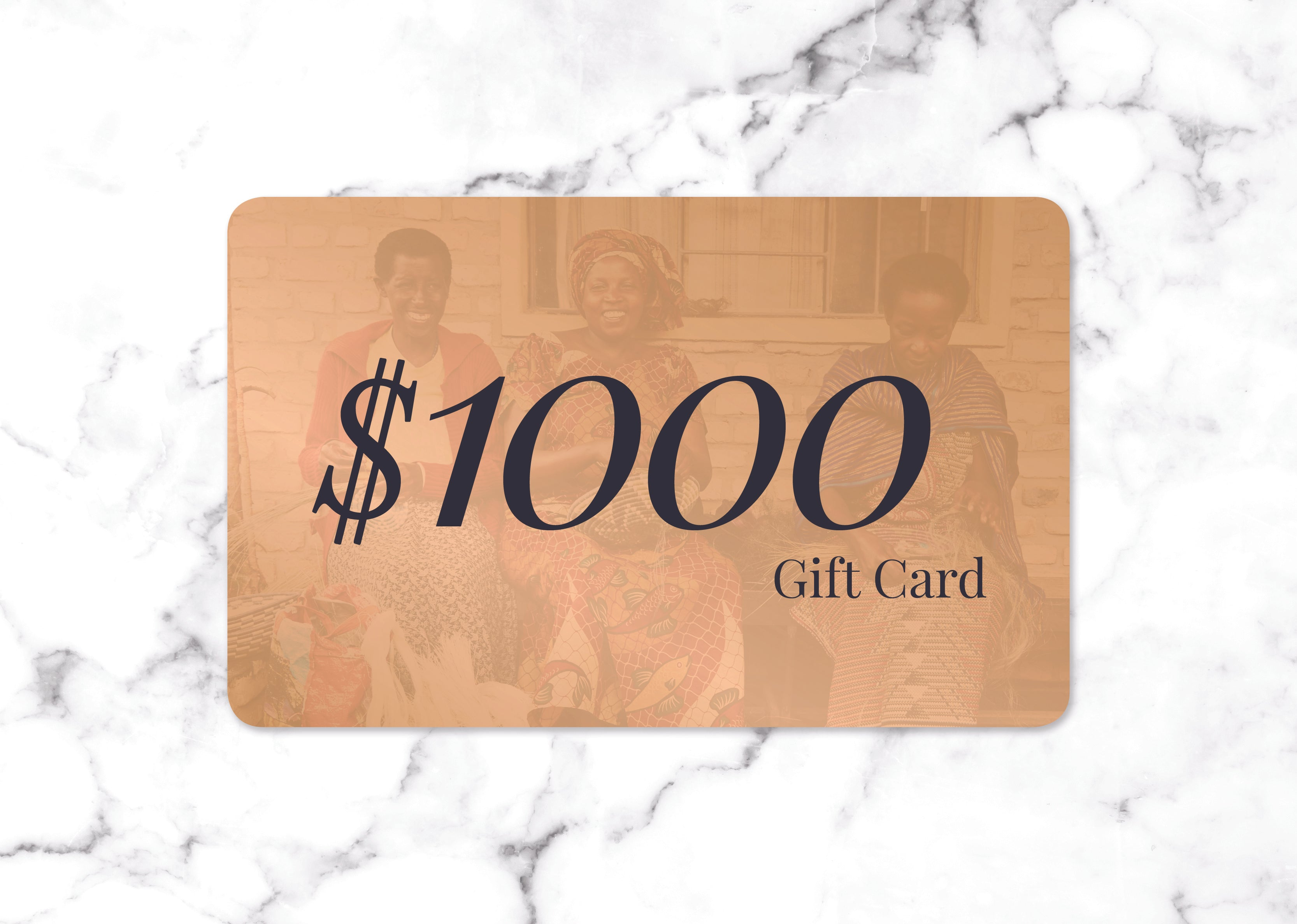 $1000 Gift Card - KAZI - Artisan made high quality home decor and wall art