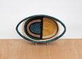 Mustard Deco Oval Basket