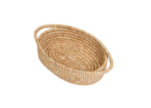 Load image into Gallery viewer, Camel Heathered Oval Basket
