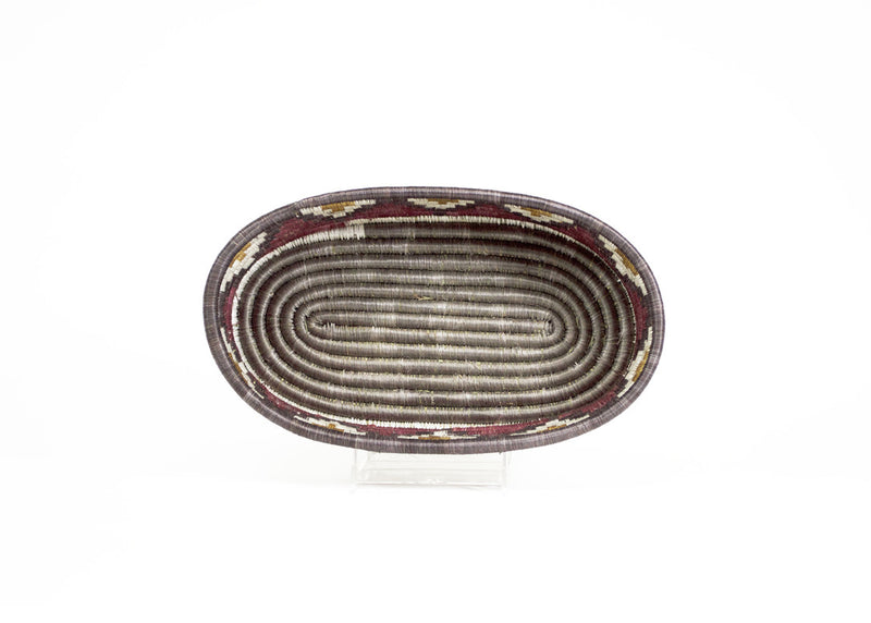 Red + Bronze Bread Basket