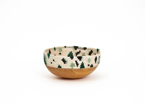Ivy Wooden Bowl