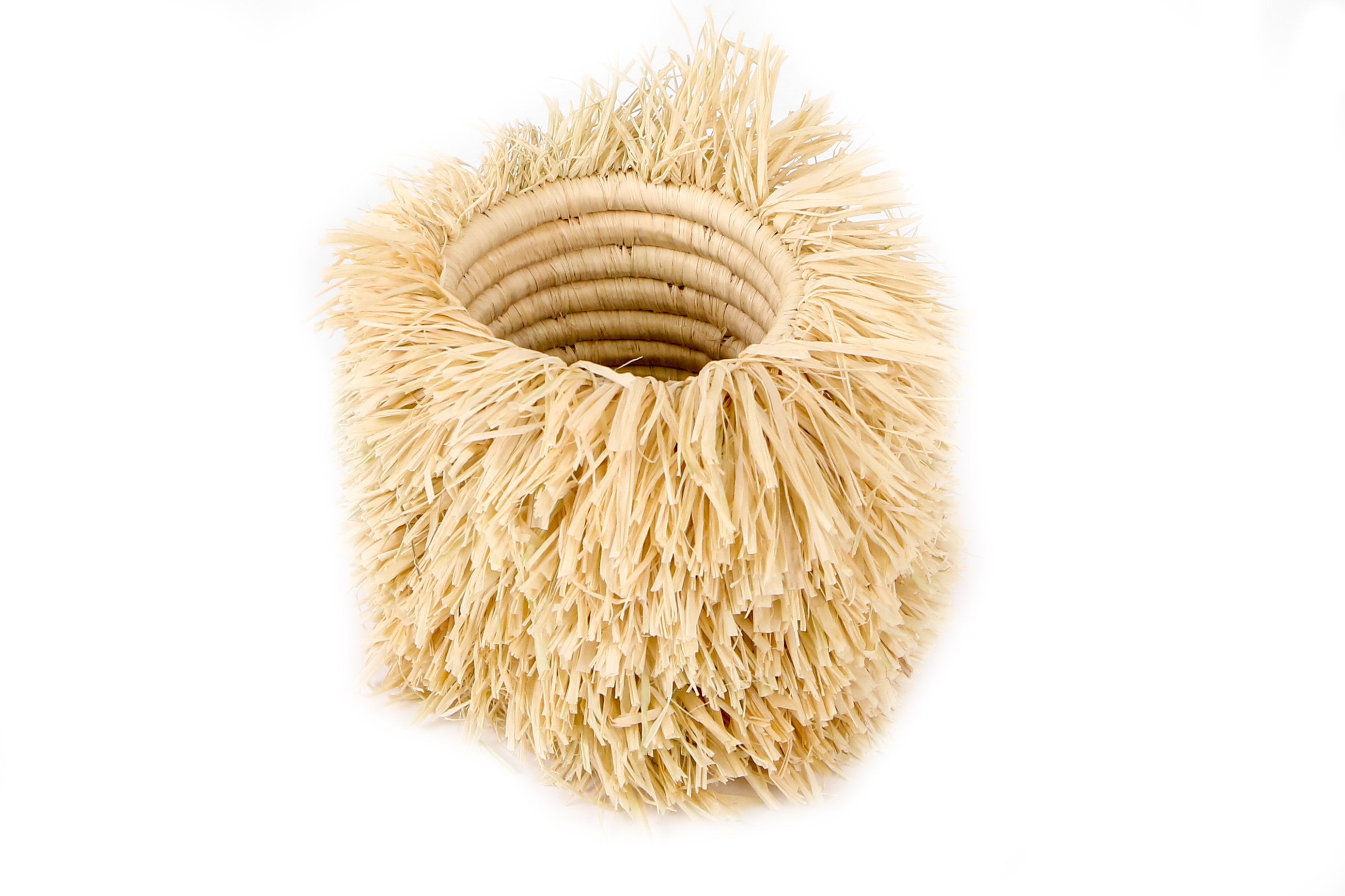 Natural Bomba Brush Cup (M) - KAZI - Artisan made high quality home decor and wall art