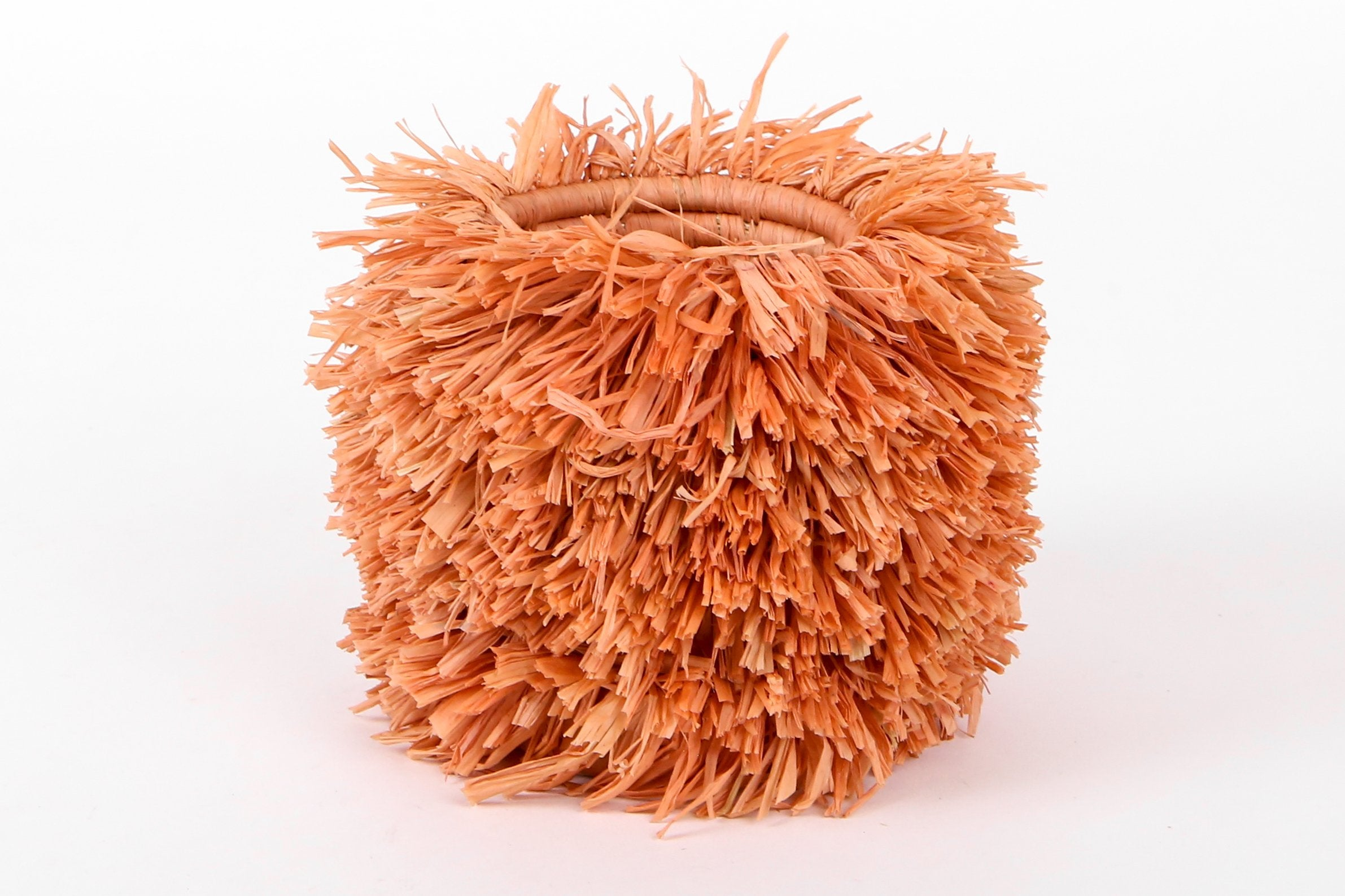 Peach Bomba Brush Cup - KAZI - Artisan made high quality home decor and wall art