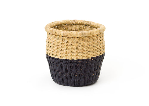 Small Black Dipped Storage Basket