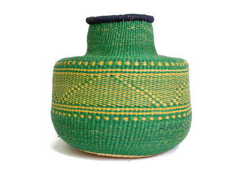 Kigani Grass Short Pot