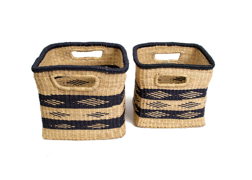 Upendo Grass Boxes, Set of 2