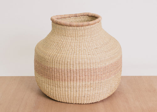 Dunia Striped Grass Pot