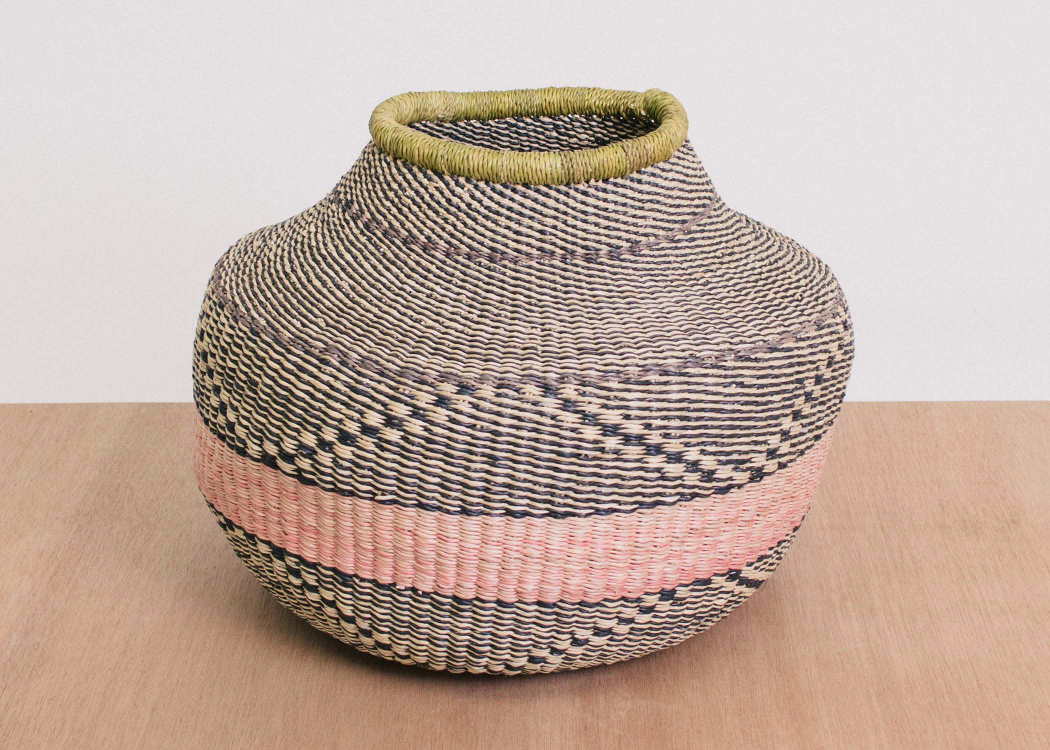 Tumaini Grass Short Pot - KAZI