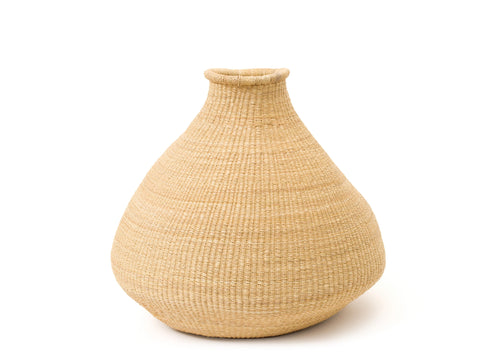Small Natural Grass Bud Vase