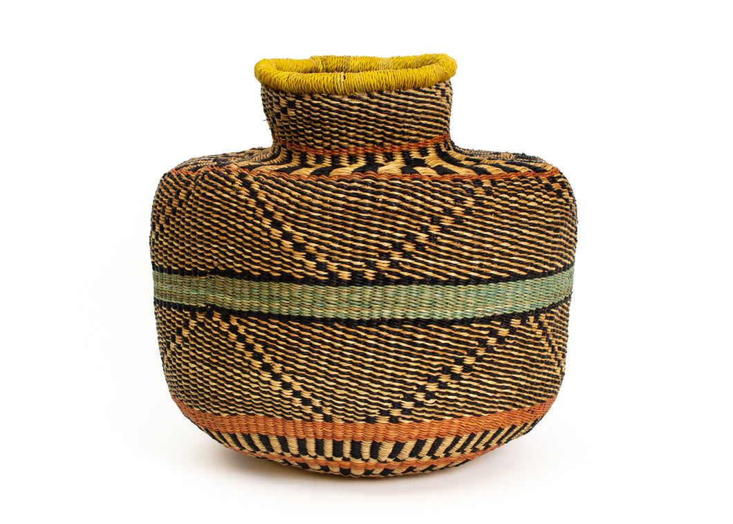 Bahari Grass Short Pot - KAZI - Artisan made high quality home decor and wall art