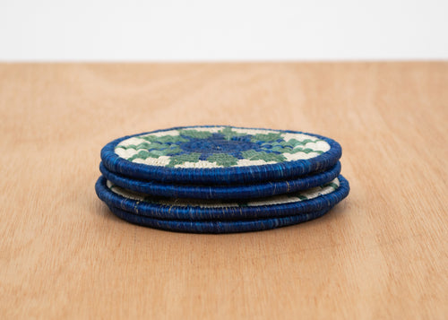 Nile Blue + Lake Hope Coasters