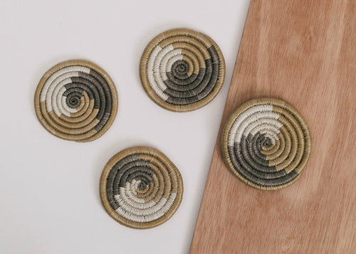 Soft Gold Unity Coasters