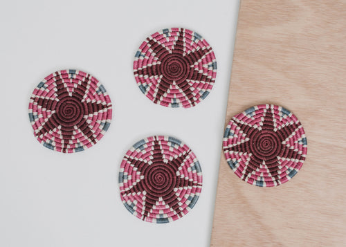 Mauve Fig Hope Coasters