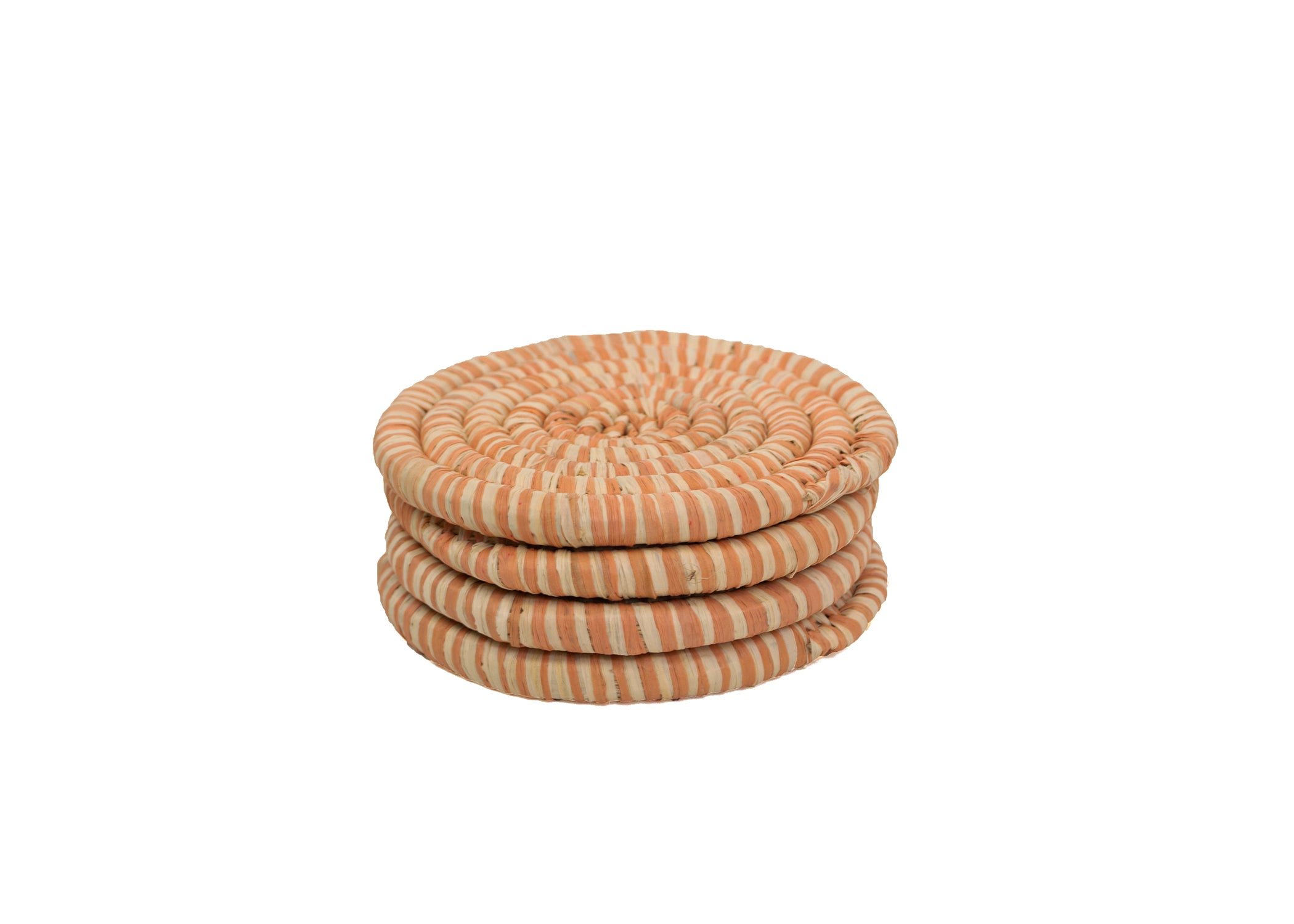 Peach Heathered Coasters