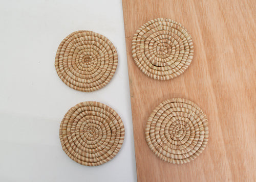 Camel Heathered Coasters
