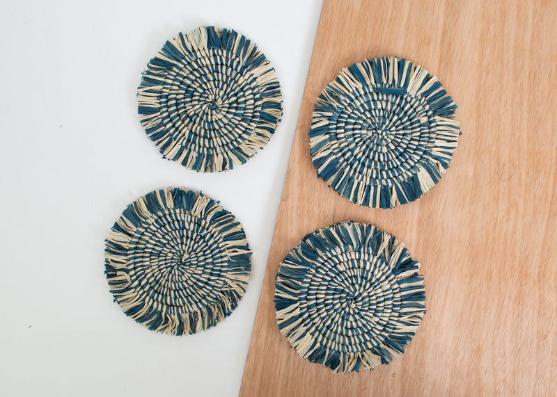 Niagara Fringed Heathered Coasters