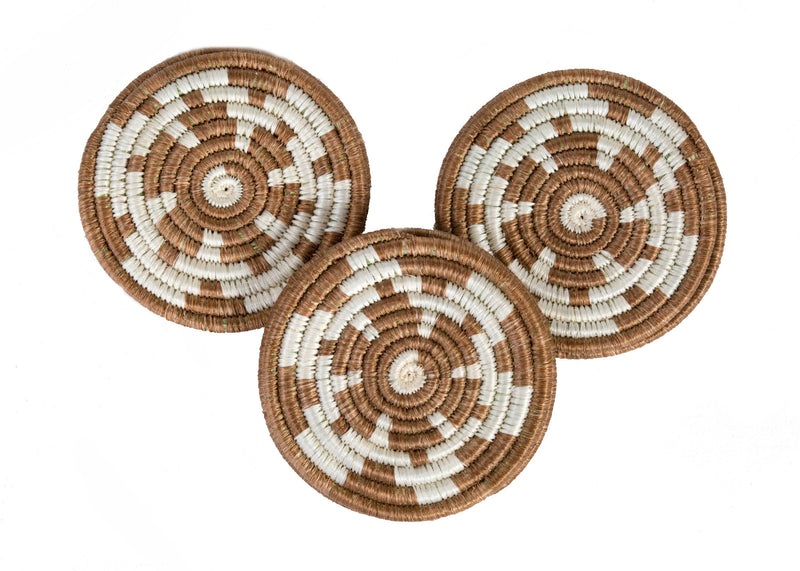 Brown Sugar Hope Coaster Set of 6