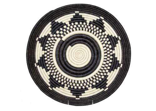 Black + White Ikibamba Tray