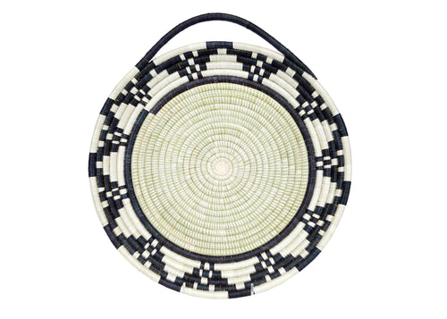 Black + White Looped Tray