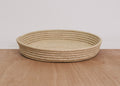 Natural Large Raffia Tray