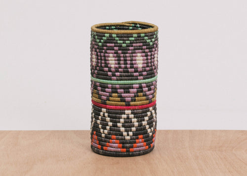Multi Color Diyama Vase