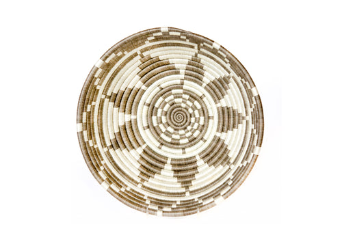 Large Light Taupe Ikaze Basket