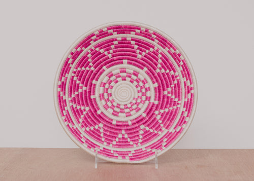 Large Festival Fuchsia Thousand Hills Bowls
